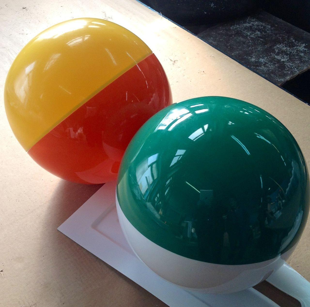 Как сделать пластмассовый шарики